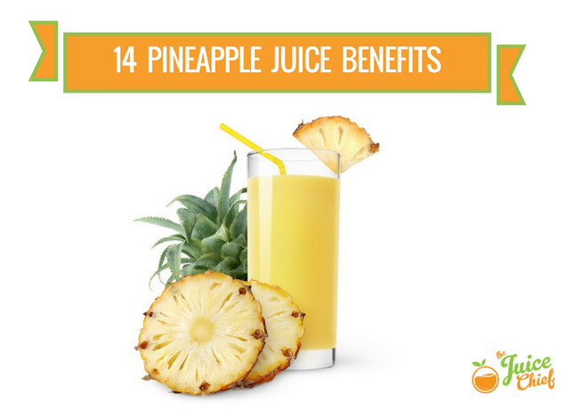 pineapple juice benefits juice
