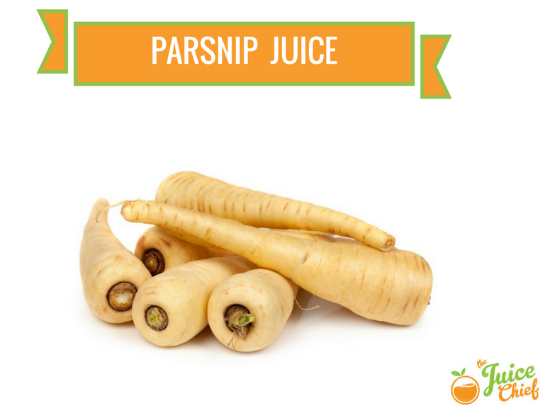 parsnip juice benefits
