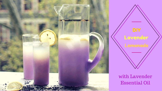DIY Lavender Lemonade (With Lavender Essential Oil)