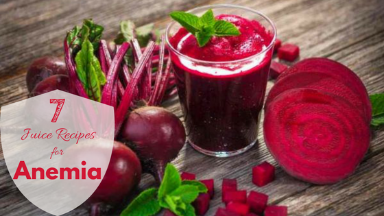 7 Juice Recipes for Treating Anemia