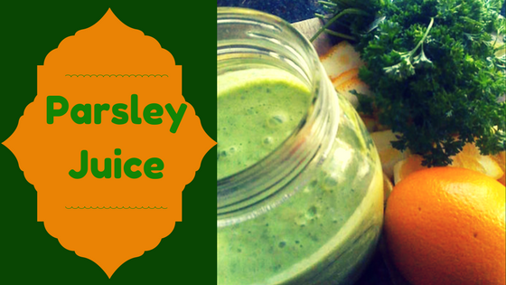 Parsley Juice