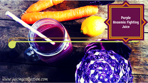 Purple Anaemia Fighting Juice