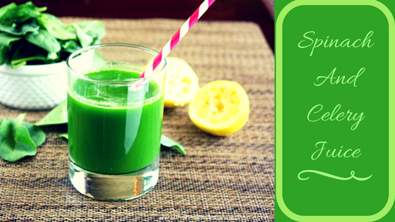 Spinach And Celery Juice