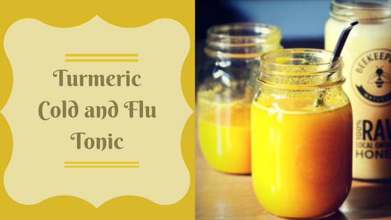 Turmeric Cold and Flu Tonic