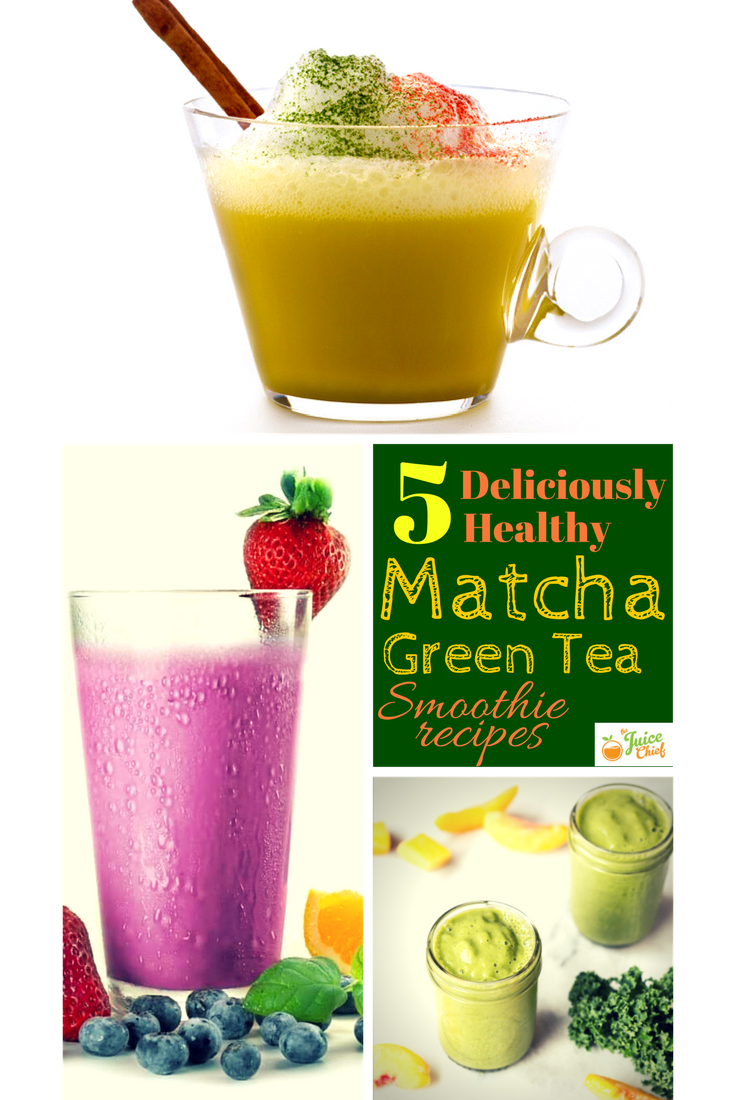 matcha green tea smoothie recipes