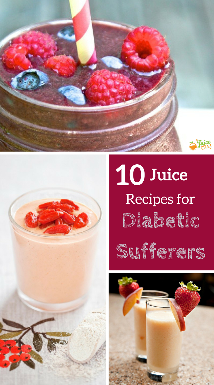 10 Juices For Diabetics Recipes The Juice Chief