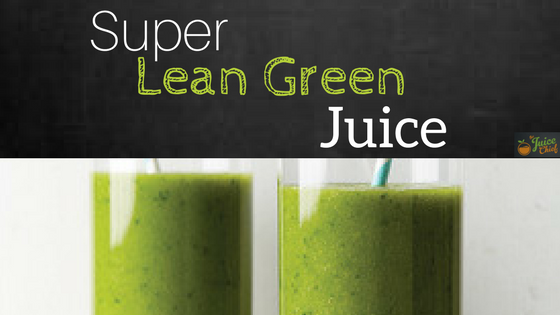 lean green juice feature image